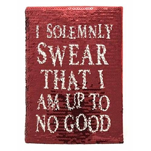 "Harry Potter. Cuaderno Lentejuelas ""I Solemnly Swear"""