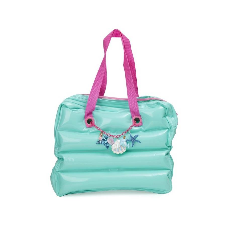 Bolso Inflable UNDER THE SEA Mermaid & Narwhal Charms
