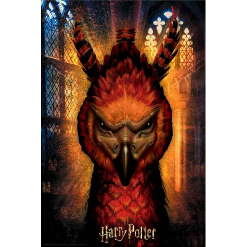 Harry Potter. Puzzle Lenticular Fawkes 300 pzs