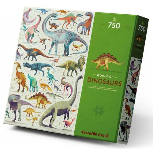 Puzzle World of Dinosaurs 750 pzs