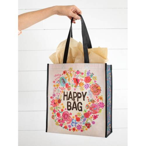 Happy Bag large Whimsy Floral